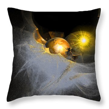 New Planet Throw Pillow by Michael Durst