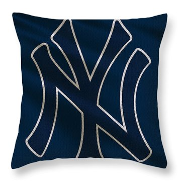 New York Yankees Uniform Throw Pillow