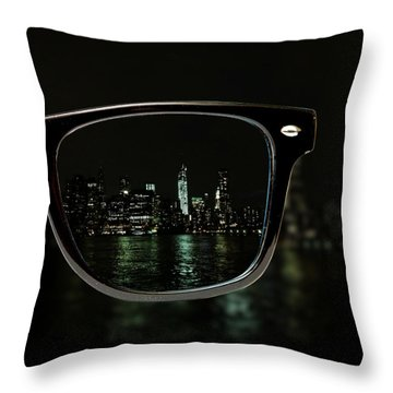 Night Vision Throw Pillow