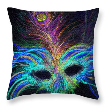New Orleans Intrigue Throw Pillow