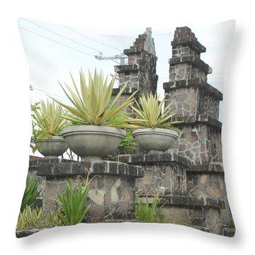 Nusa Dua Throw Pillow