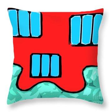 Ocean Throw Pillow by Patrick J Murphy