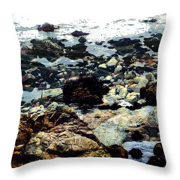 Ocean View Throw Pillow