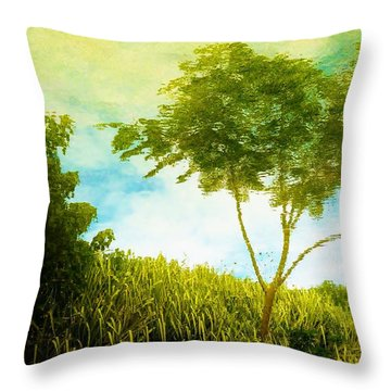 Ode To Monet Throw Pillow by Amar Sheow