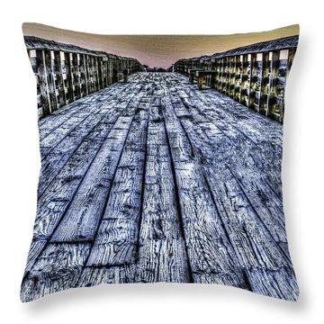 Old Pitt St Bridge Throw Pillow