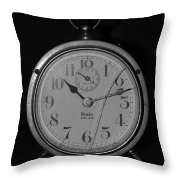 Old Westclock Throw Pillow by Rob Hans