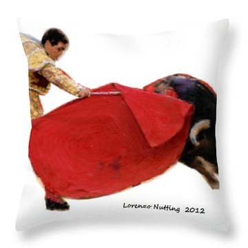 Ole Throw Pillow by Bruce Nutting
