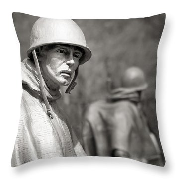 In Our Nation's Service Throw Pillow