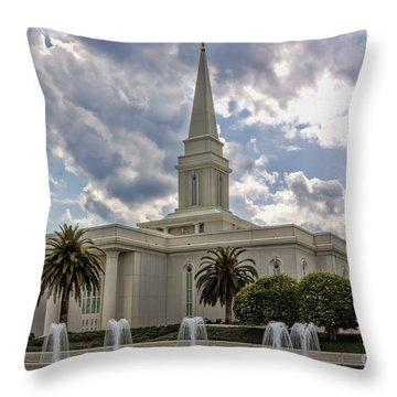 Orlando Temple Throw Pillow