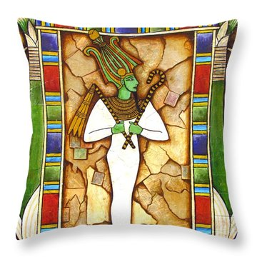 Osiris Throw Pillow