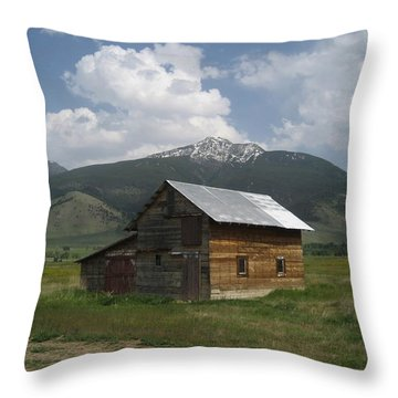 Paradise Valley Montana Throw Pillow