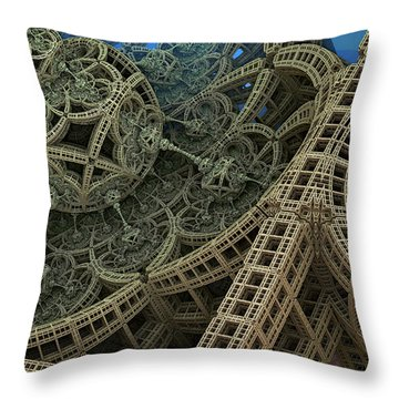 Parallel World 2 Throw Pillow