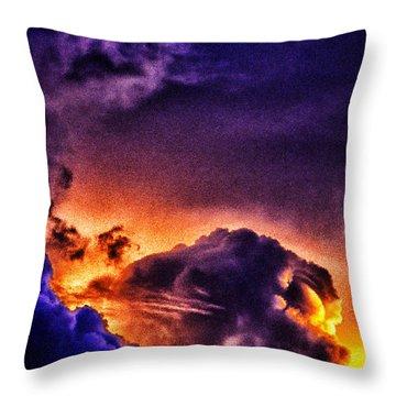 Parousia Throw Pillow by Thomas R Fletcher