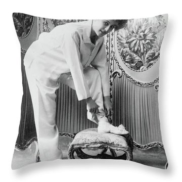 Pauline Chase (1885-1962) Throw Pillow