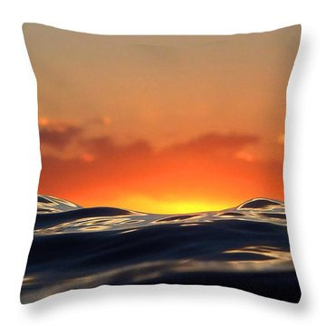 Throw Pillow featuring the digital art Pele Goddess Of Fire by Suzette Kallen