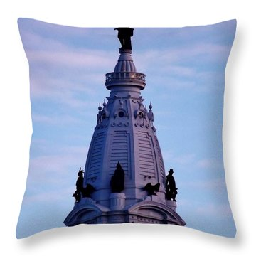 Philly Billy Throw Pillow