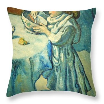 Picasso's Le Gourmet Throw Pillow