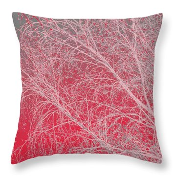 Pink  Throw Pillow by Carol Lynch