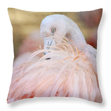 Pinkness Throw Pillow