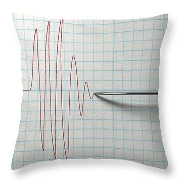 Electronic Ink Throw Pillows