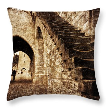 Pont Valentre / Cahors Throw Pillow