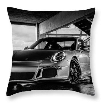 Porsche 911 Throw Pillows