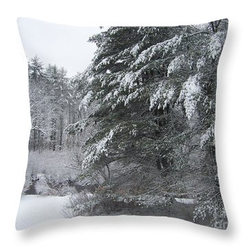 Powdered Sugar Throw Pillow