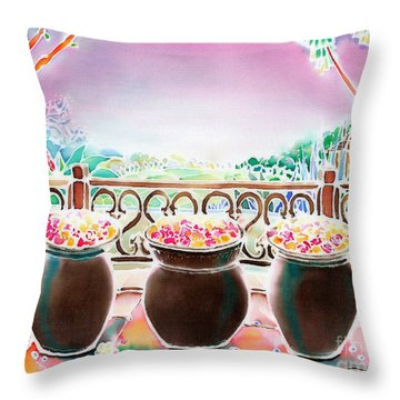 Prelude To The Night Throw Pillow