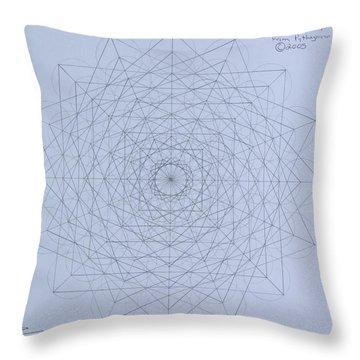 Quantum Foam Throw Pillow