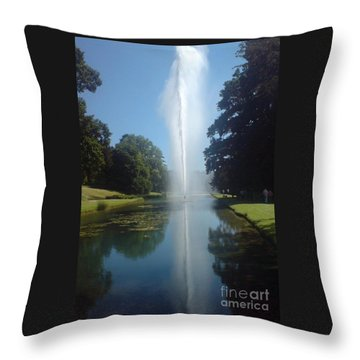 Throw Pillow featuring the photograph Reaching High by Tracey Williams