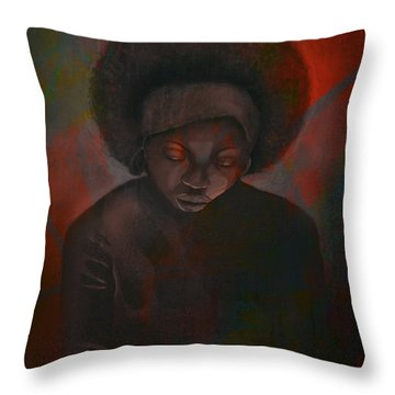 Reciprocity Throw Pillow by AC Williams