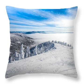 Ridgeline Throw Pillow