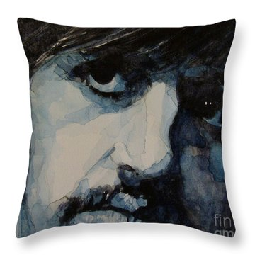 Ringo Starr Throw Pillows