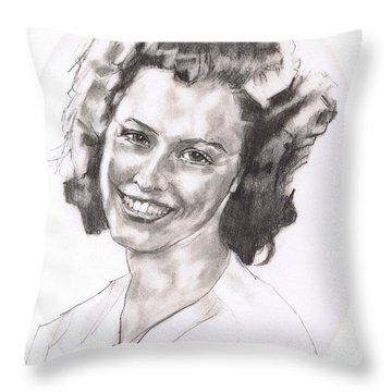 Rita Throw Pillow by Sean Connolly