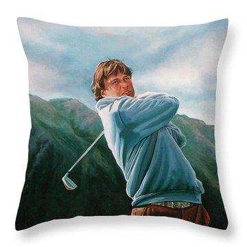 Robert Jan Derksen Throw Pillow by Paul Meijering