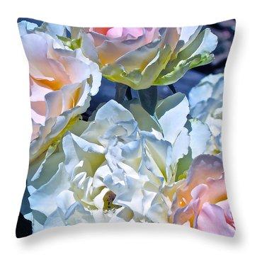 Rose 59 Throw Pillow