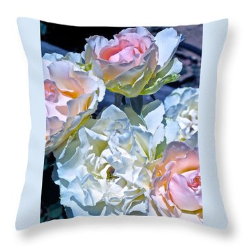 Rose 59 Throw Pillow
