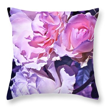 Rose 60 Throw Pillow