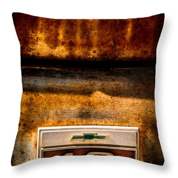 Rusted C10 Throw Pillow