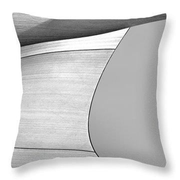 Sailcloth Abstract Number 4 Throw Pillow