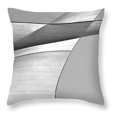 Sailcloth Abstract Number 4 Throw Pillow