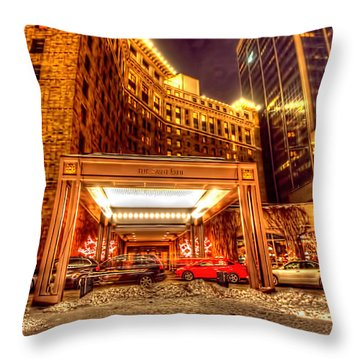 Saint Paul Hotel Throw Pillow