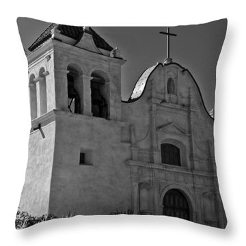 San Carlos Cathedral Throw Pillow