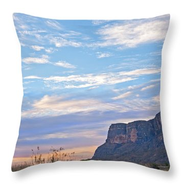 Santa Elena Sunrise Throw Pillow
