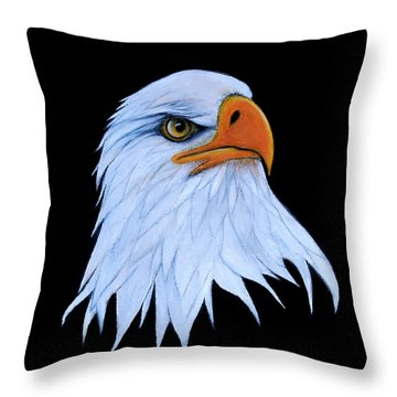 Sarah Throw Pillow by Adele Moscaritolo