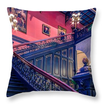 Throw Pillow featuring the photograph Sc State House by Rob Sellers