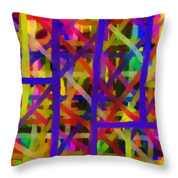 Schreien Throw Pillow by Sir Josef - Social Critic -  Maha Art