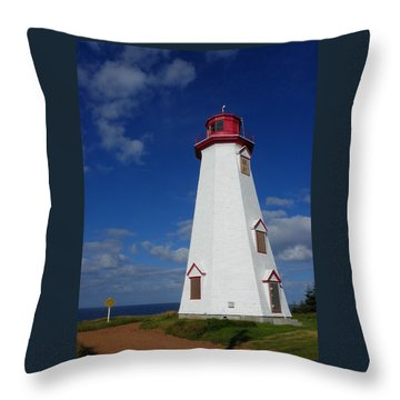 Seacow Head Light Throw Pillow