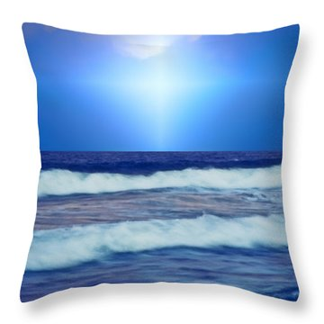 Seek Peace Throw Pillow by Kellice Swaggerty