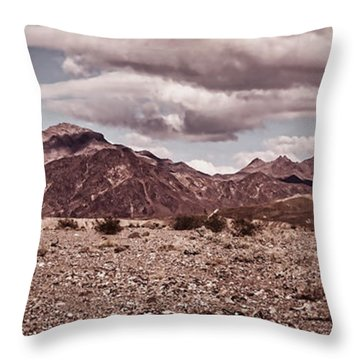 Shadow Walking Throw Pillow